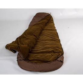 Спальный мешок кокон Arvisa микрофибра 220х80х50 с капюшоном