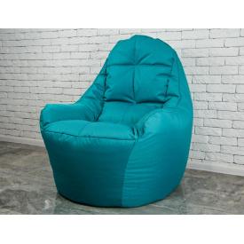 Бескаркасное кресло мешок груша диван мятный BOSS XL