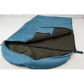 Спальный мешок военный Standart полиэстер с защитной прорезиненной термо-пленкой 220х142 см мята