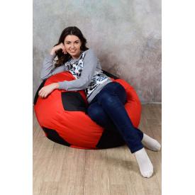 Кресло мяч красно-черный L 110 oxford 600