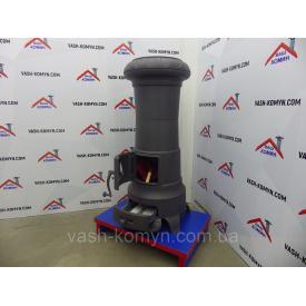 Печь отопительная чугунная Plamen Julia (серый графит) 11 кВт