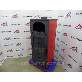 Чугунная печь-камин с небольшой варочной поверхностью Plamen Laguna 11 кВт