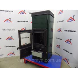 Стальная печь-камин отопительная Plamen Dora 10 N 9 кВт