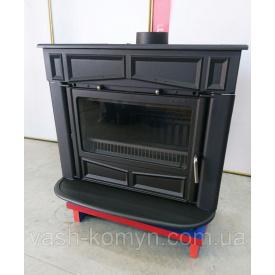Чугунная печь-камин на ножках Plamen Glas Franklin 13 кВт