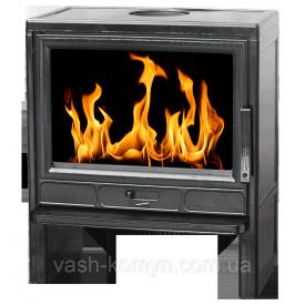 Отопительная печь-камин чугунная Plamen Barun 11 кВт