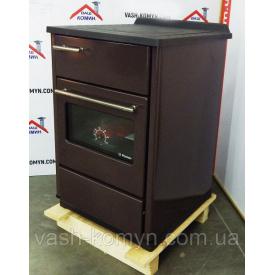 Отопительно-варочная печь Plamen Calorex 60 коричневая