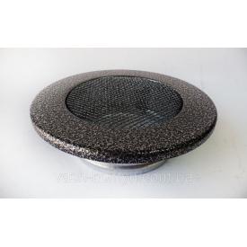 Камінна решітка округла Чорно-Срібна RK 6-1