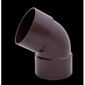 Двухраструбное водосточное колено Profil 60° 130/100