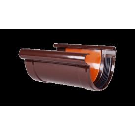 Соединитель водосточного желоба с вкладкой водосточный Profil 90/75