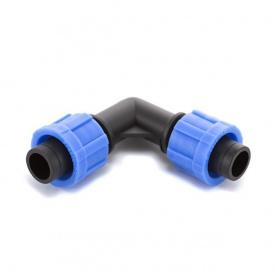 Кут Presto-PS затискний для краплинної стрічки (ЕТ-0117)