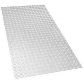 Лист металевий рифлений 1000х4000х4 мм