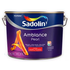 Краска Sadolin Ambiance Pearl 10 л полуматовая для стен