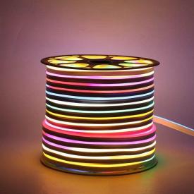 Светодиодный LED гибкий неон PROLUM 5050\60 IP68 24V RGB FULL COLOR IC1903 , RGB
