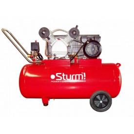 Воздушный компрессор 2400 Вт 100 л Sturm AC 93103