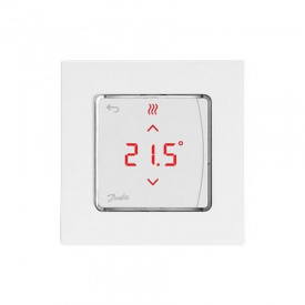 Danfoss Терморегулятор Icon RT Display On Wall 0-40 C сенсорный накладной 24V 088U1055