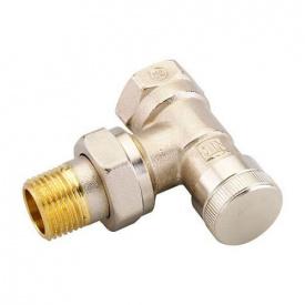Запірний клапан Danfoss RLV 15 для однотрубної системи кутовий 003L0143