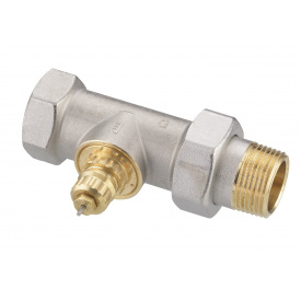 Клапан Danfoss RA G 25 нікель для однотрубної системи опалення прямий DN25 013G1679