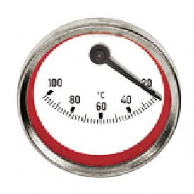 Ексцентричний термометр Meibes червоний 58071.05