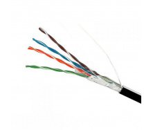 ElectroHouse Кабель FTP 4х2х0,51 Cu черный (наружный монтаж)