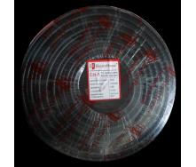 ElectroHouse Телевизионный (коаксиальный) кабель RG-6U CCS 1,02 Cu черный ПВХ