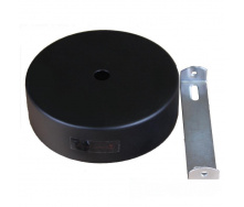 Настенное крепление черное для трекового LED светильника ElectroHouse 20/30W