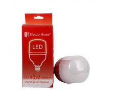 Светодиодная лампа ElectroHouse Т100 Е27 40W