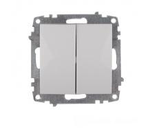 ElectroHouse Механизм выключателя двойного Enzo EH-2122