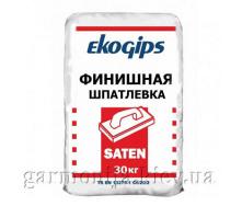 Шпаклівка EKOGIPS Saten гіпсова 25 кг