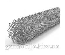 Сітка рабиця 50х50х2,5 мм 1,5х10 м без покриття