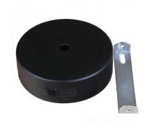 Настенное крепление черное для трекового LED светильника ElectroHouse 15W