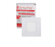 ElectroHouse LED панель квадратная 3W 4100К 270Lm 85х85мм