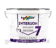 Краска интерьерная INTERIOR 7 Kompozit 1,4 кг