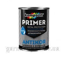 Грунтовка антикоррозионная ANTIKOR Kompozit 3,5 кг Светло-серый