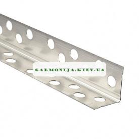Угол перфорированный аллюминиевый Супер 3,0 м 0,40x20x20 мм