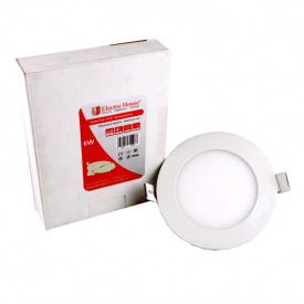 ElectroHouse LED панель круглая 6W 4100К 540Lm 120мм