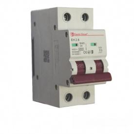 ElectroHouse Автоматический выключатель 2P 6A 4,5kA 220-240V IP20