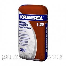 Теплоизоляционная кладочная смесь KREISEL 120 Dammortel 30 л