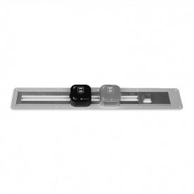 ElectroHouse Рамка врезная для трековой рейки 0,5 м серебро