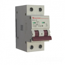 ElectroHouse Автоматичний выключатель 2P 16A 4,5kA