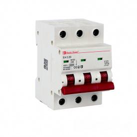 ElectroHouse Автоматический выключатель 3P 20А 4,5kA 230-400V IP20