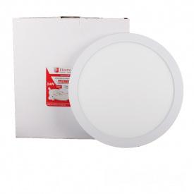 ElectroHouse LED панель круглая 24W 4100К 2160Lm 300мм