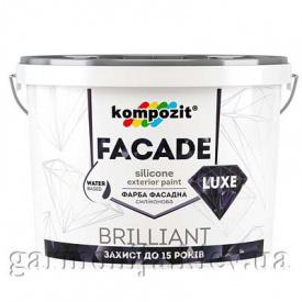 Краска фасадная FACADE LUXE Kompozit 1,4 кг