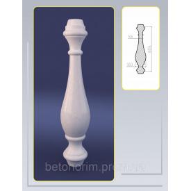Балясина асиметрична з штучного мармуру 160х685 мм