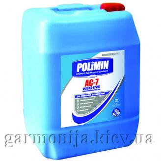 Глибокопроникна грунтовка Polimin AC-7 Фасад-Грунт 10 л