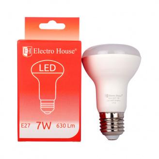 Светодиодная лампа ElectroHouse гриб E27 7W R63 4100K 630Lm