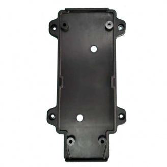 Настенное крепление черное пластик для трекового LED светильника ElectroHouse 20W