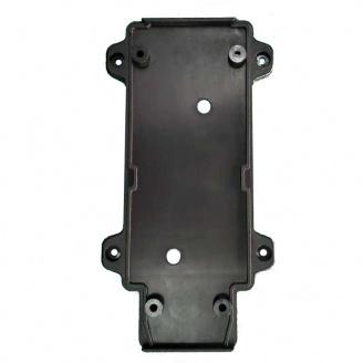 Настенное крепление черное пластик для трекового LED светильника ElectroHouse 30W
