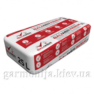 Теплоізоляційна штукатурка BAUWER Premium+ Тепловер 25 л