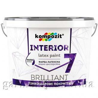 Краска интерьерная INTERIOR 7 Kompozit 7 кг