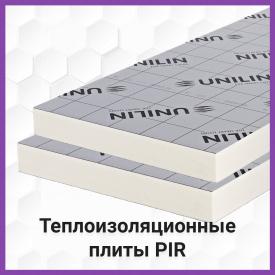 Теплоізоляційна плита 50 мм UTHERM Flat Roof PIR L 600*1200, 2 сторон. алюм. пленка, UNILIN Group, Бельгія